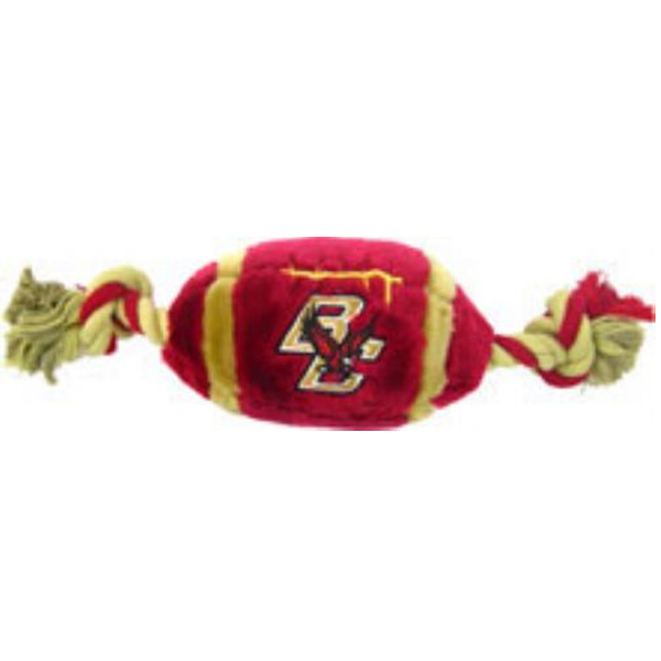 Boston College Eagles Plush Football Dog Toy