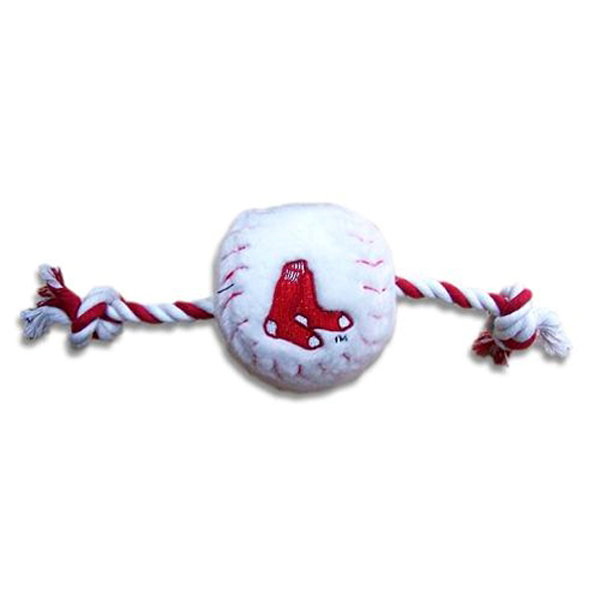 Boston Red Sox Plush Baseball Rope Toy