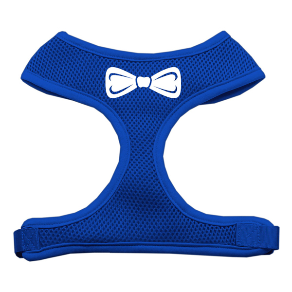 Bow Tie Dog Harness - Blue
