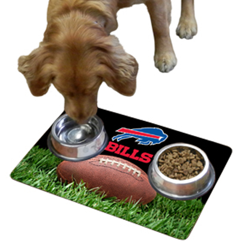 Buffalo Bills Pet Bowl Mat