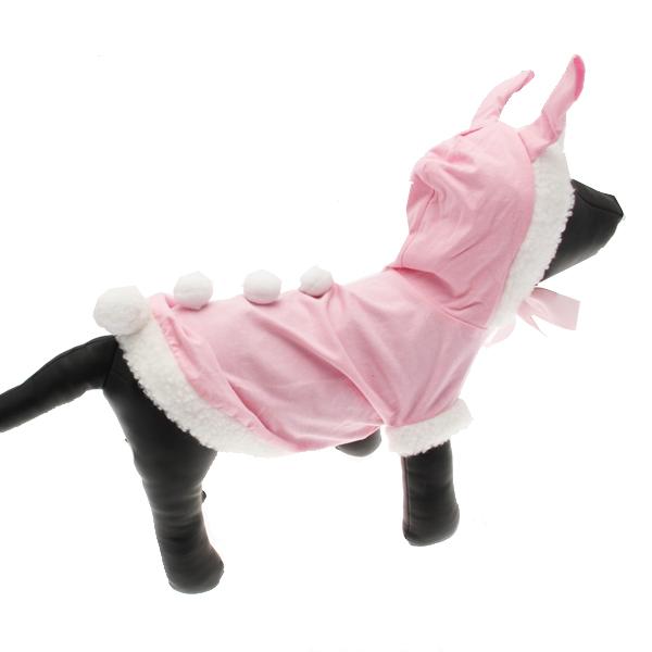 Pink Bunny Dog Halloween Costume