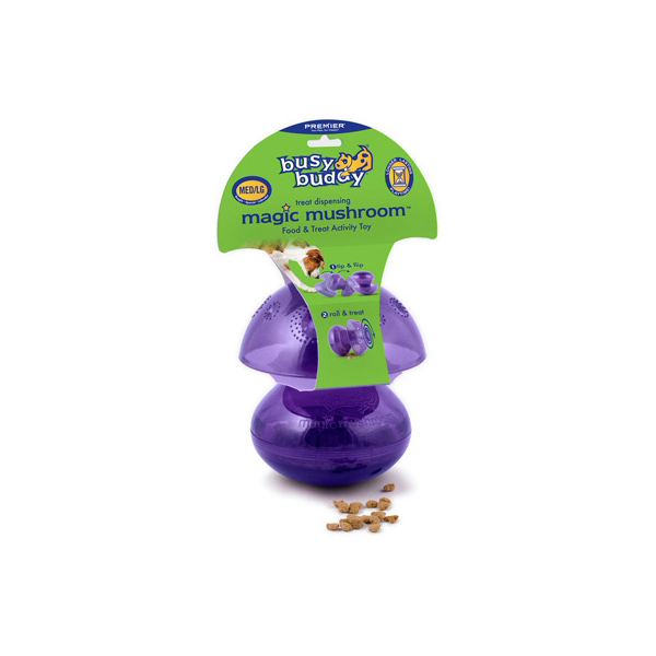 Busy Buddy Magic Mushroom Dog Toy