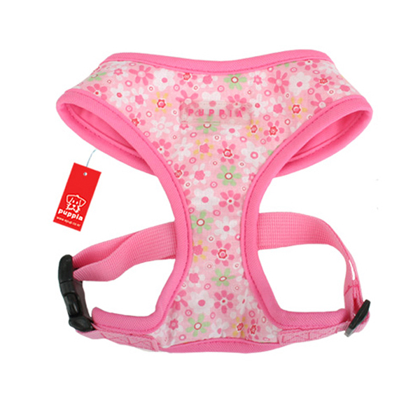 Buttercup Dog Harness by Puppia - Pink