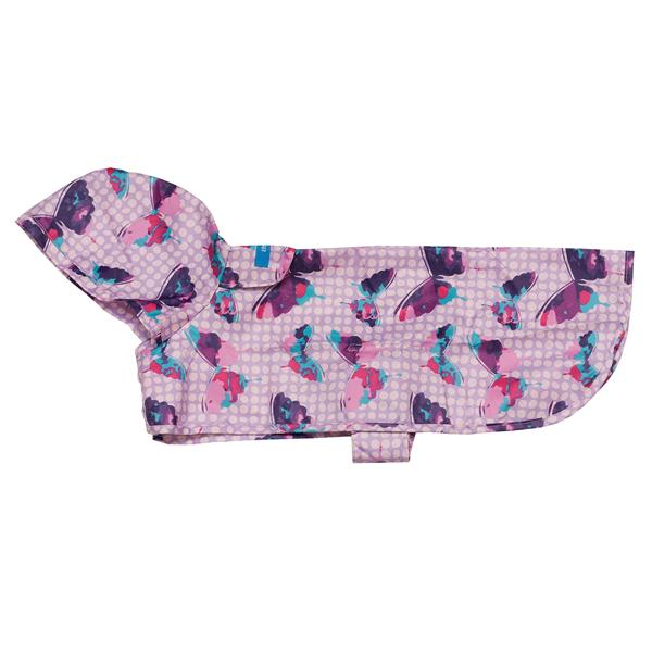 Butterflies Packable Dog Rain Poncho