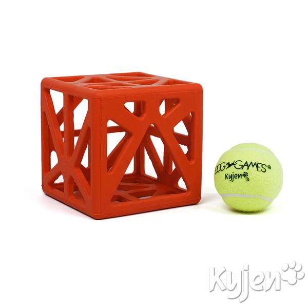 Cagey Cube Dog Toy