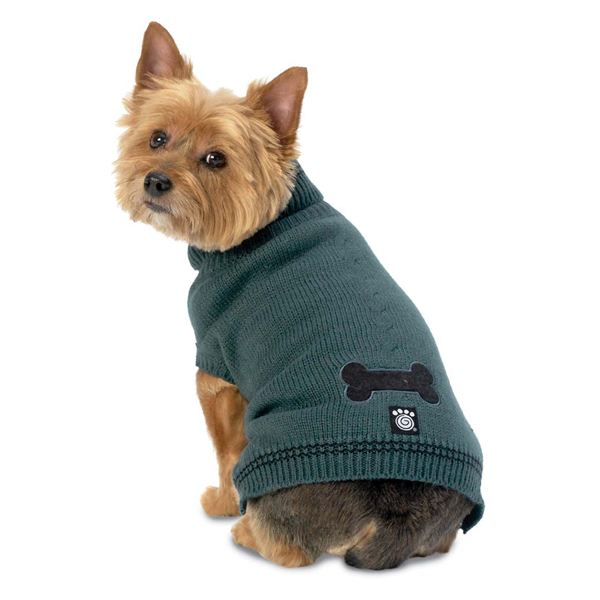 Cali's Cable Knit Dog Sweater - Balsam
