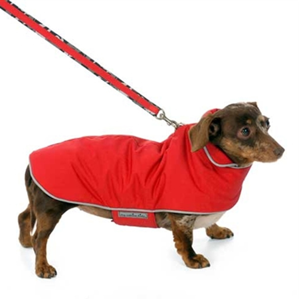 Camo Signature Reversible Dog Parka - Red