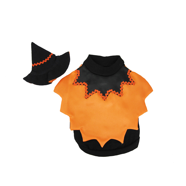 Caped Witch Dog Costume