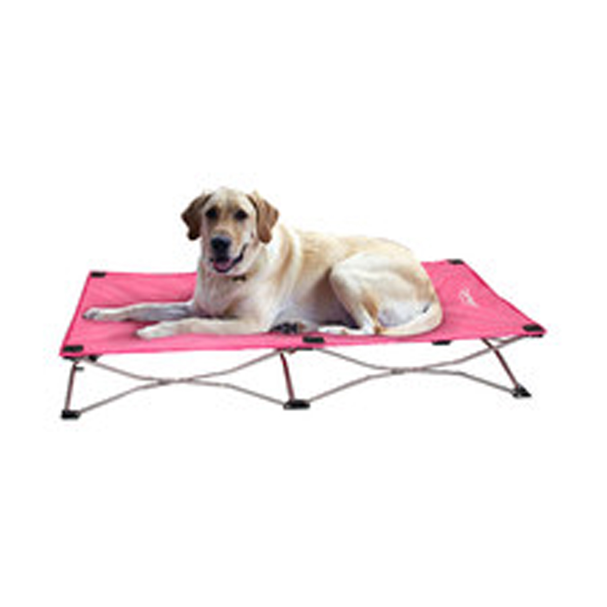 Carlson Portable Pup Travel Dog Bed - Pink