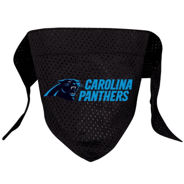 Carolina Panthers Mesh Dog Bandana