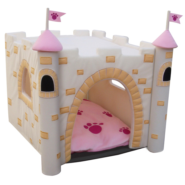 Pink Indoor Dog House