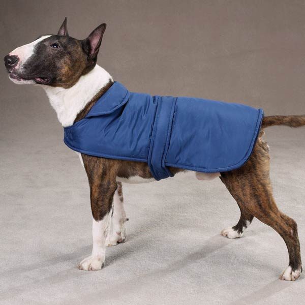 Casual Canine Barn Coats for Dogs - Navy