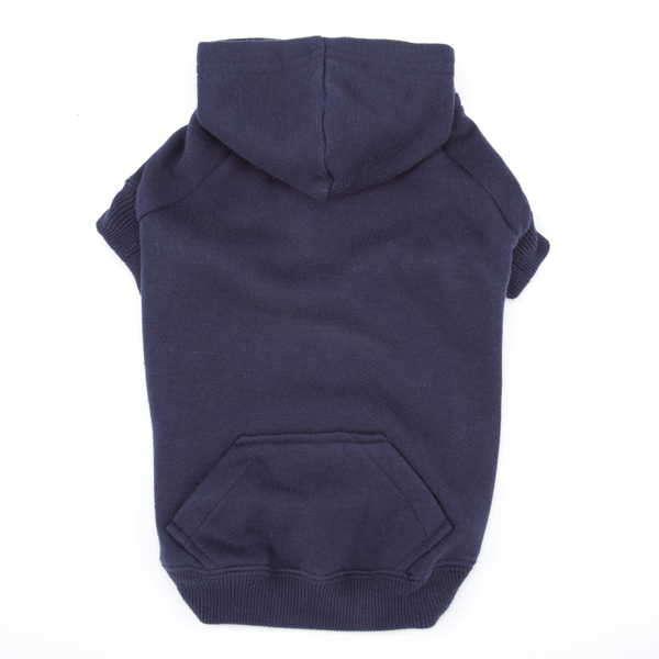 Casual Canine Basic Dog Hoodie - Navy