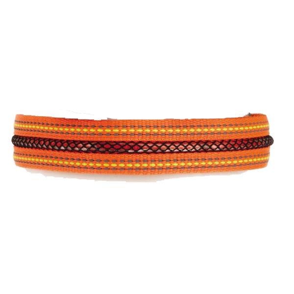 Fluorescent LED Dog Collar - Orange