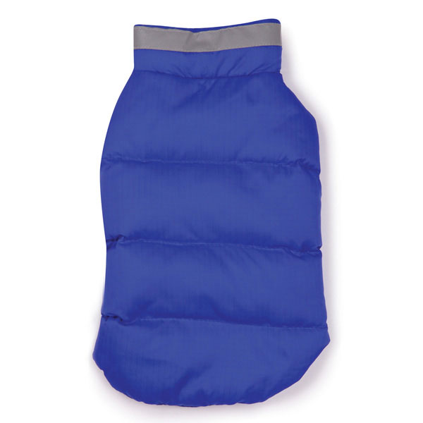 North Paw Puffy Dog Vest - Blue