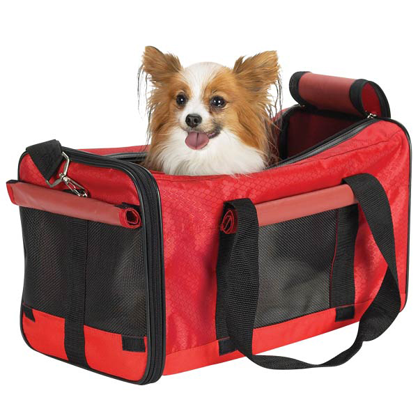 Casual Canine Pet Duffle Bag - Red