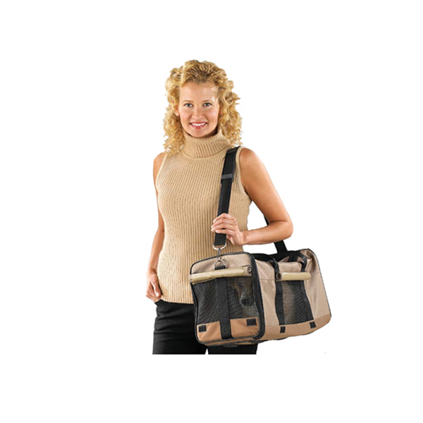 Casual Canine Pet Duffle Bag - Tan