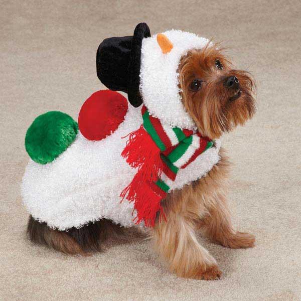Snowman Dog Jacket