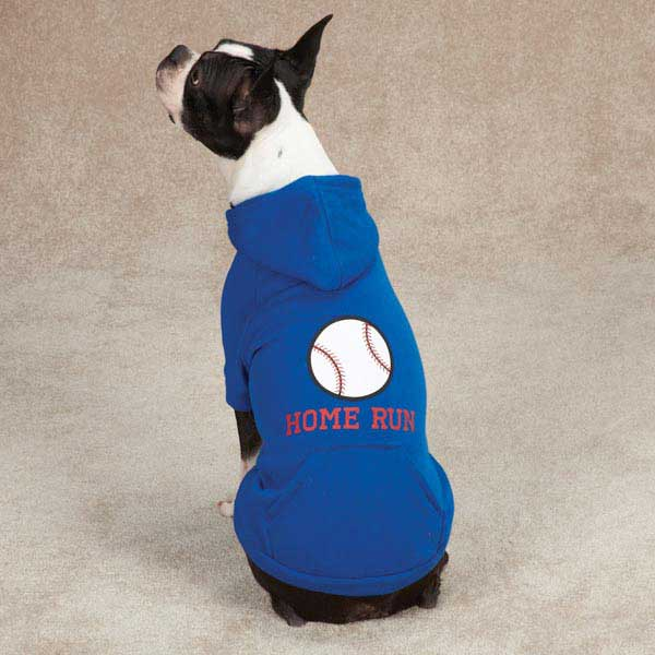 Sports Hound Dog Hoodie - Baseball