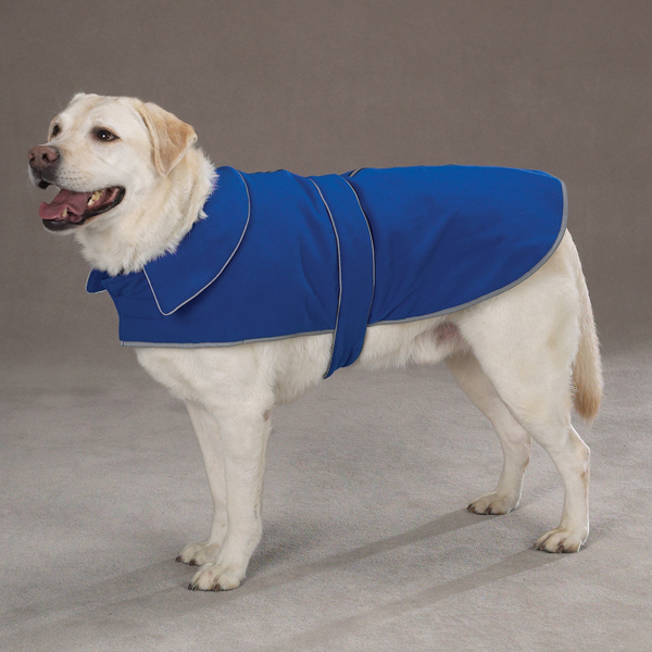 Casual Canine Thermal Fleece Dog Jacket - Blue