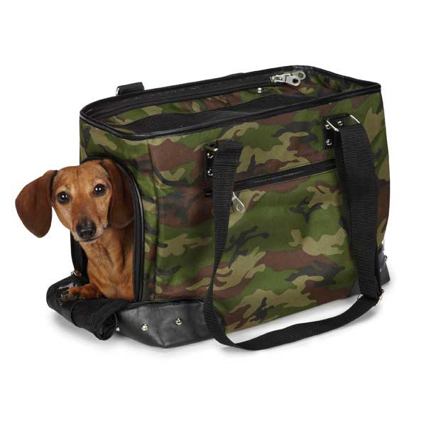 Casual Canine Urban Jungle Pet Carrier - Camo