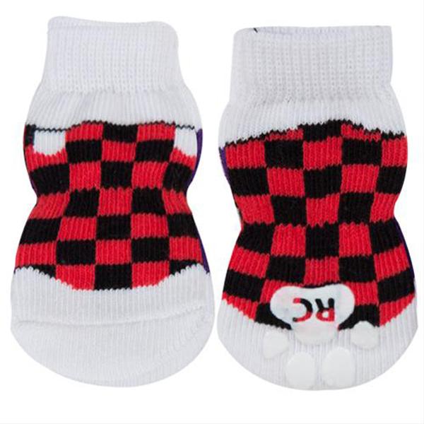 Checkered Sneakers PAWKS Dog Socks