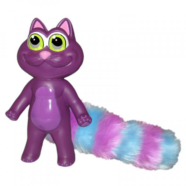 Chewbies Dog Toy - Purple Cat