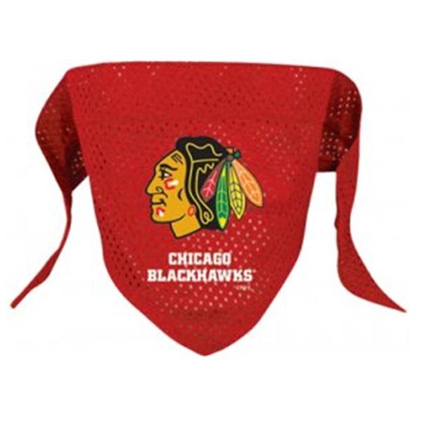 Chicago Blackhawks Mesh Dog Bandana - Red