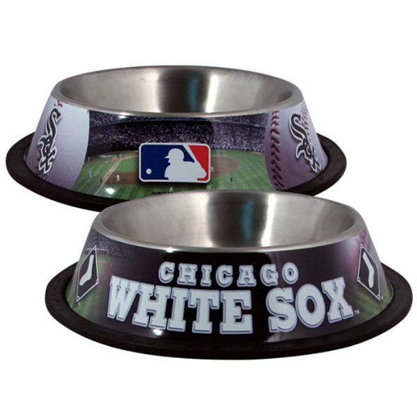 Chicago White Sox Dog Bowl