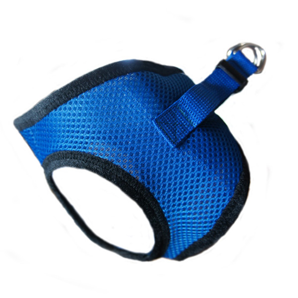 Choke-Free Mesh Step-In Dog Harness - Skydiver Blue