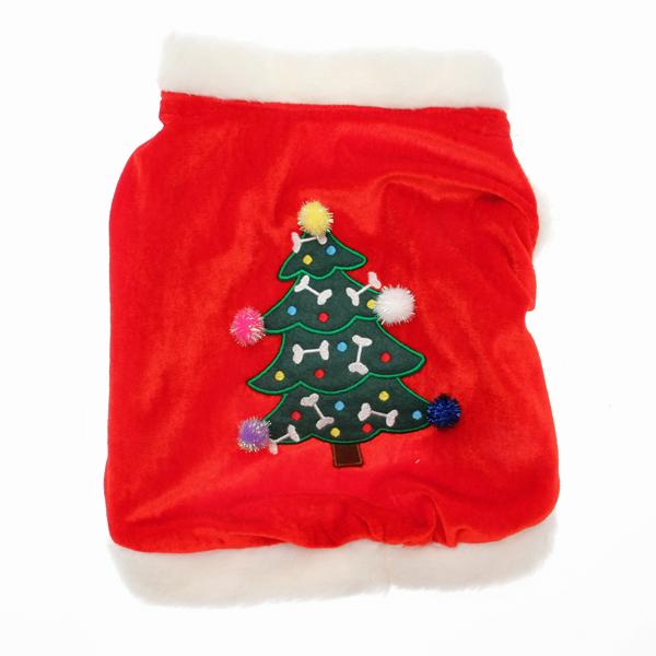 Christmas Tree Dog Cape