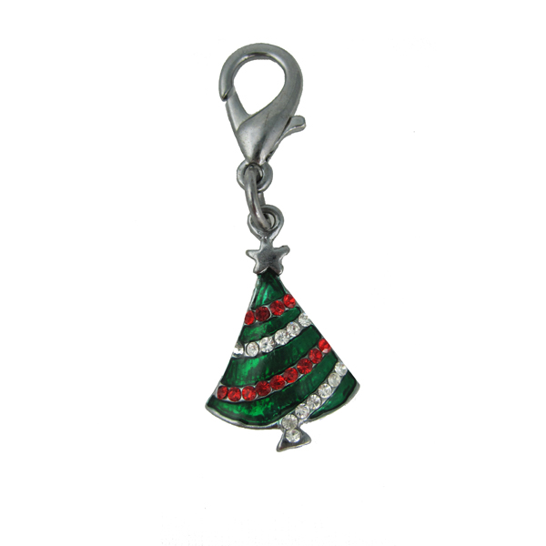 Christmas Tree Holiday Collar Charm