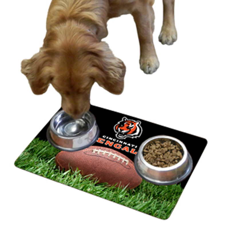 Cincinnati Bengals Pet Bowl Mat