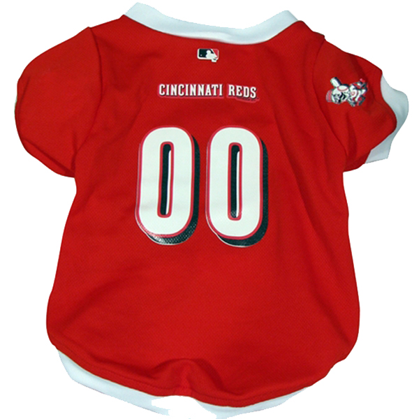 Cincinnati Reds Dog Jersey