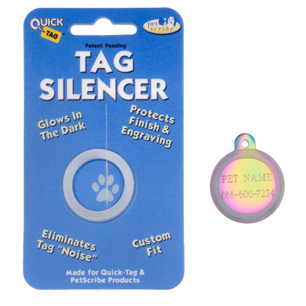 Circle Pet Tag Silencer