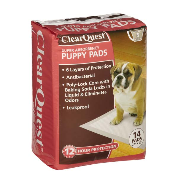 ClearQuest Super Puppy Pads