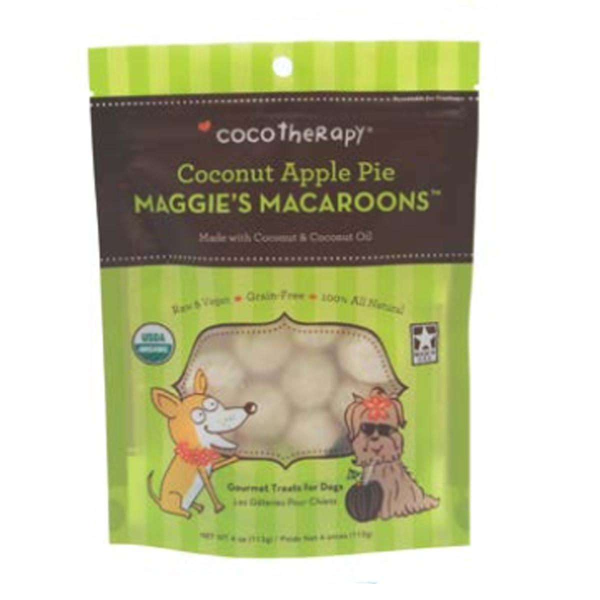 cocotherapy maggie u0026 39 s macaroons pet treat