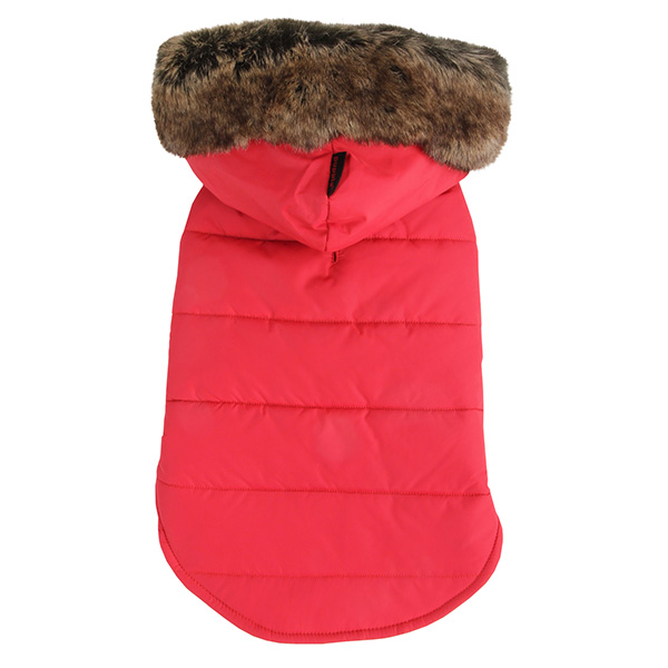 Cody Hood Dog Vest by Puppia - Red
