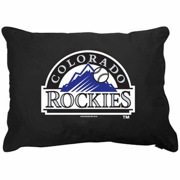 Colorado Rockies Dog Bed