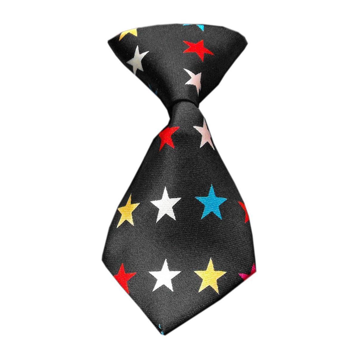 Confetti Stars Dog Neck Tie | BaxterBoo