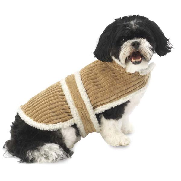 Cordova Dog Coat - Camel