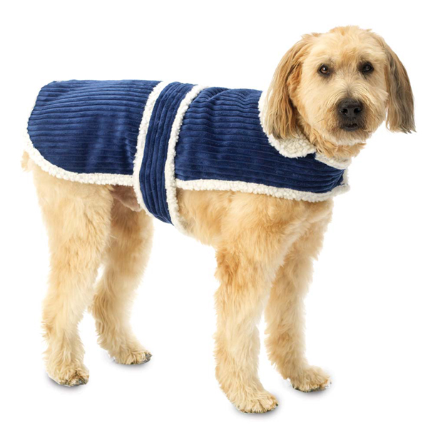 Cordova Dog Coat - Navy