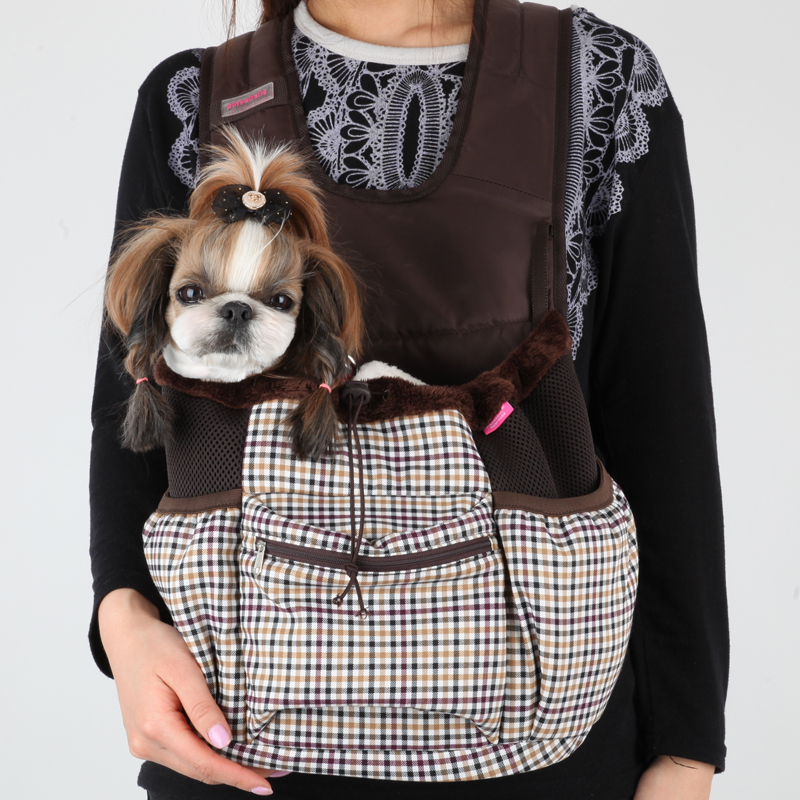 Cosmo Dog Carrier by Pinkaholic - Brown