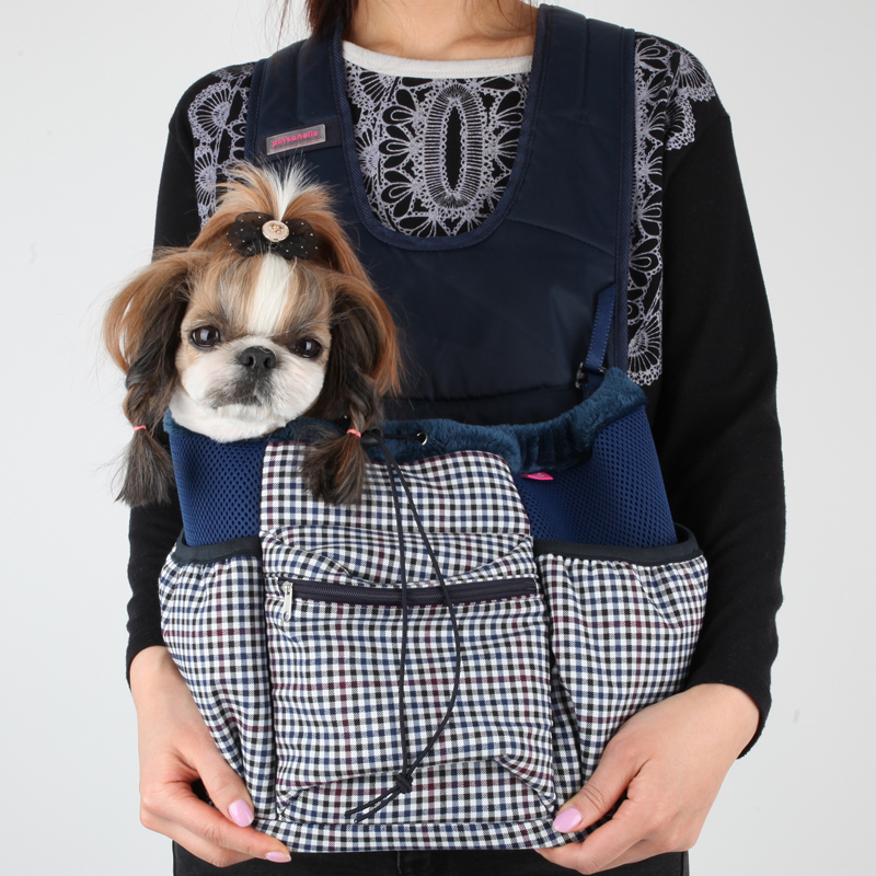Cosmo Dog Carrier by Pinkaholic - Navy