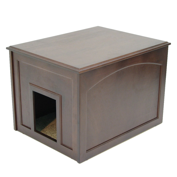 Crown Cat Litter Cabinet - Espresso