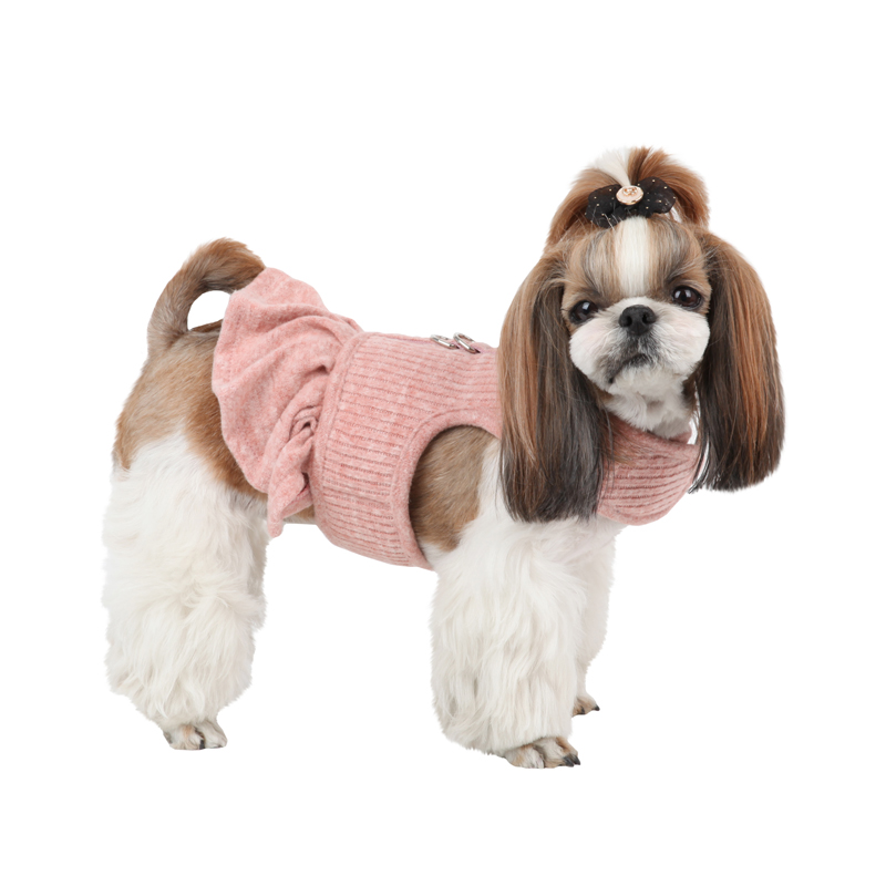 Cushy Flirt Dog Harness by Pinkaholic - Pink