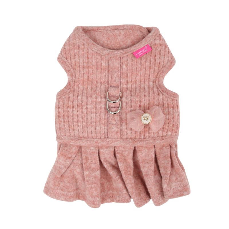 Cushy Flirt Dog Harness by Pinkaholic - Pink