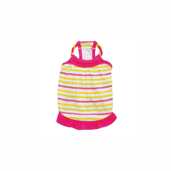 Cutie Pie Striped Summer Dog Dress by Dogo