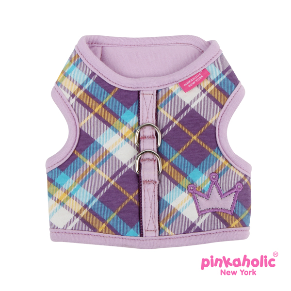 Dainty Pinka Dog Harness by Pinkaholic - Purple