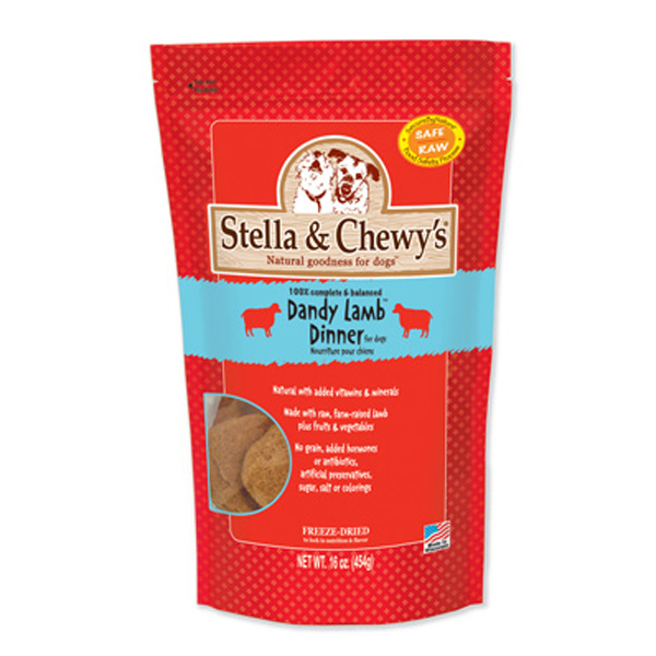 Dandy Lamb Dinner Dog Treat - Freeze Dried